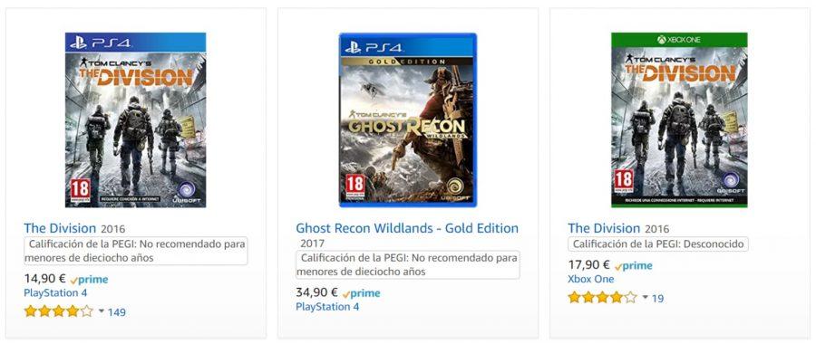 Rebajas De Ubisoft En Juegos De Ps4 Y Xbox One Gamememoney